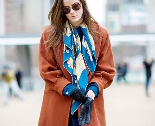Lạnh rồi mà chưa biết 11 cách thắt khăn này thì đừng nhận sành điệu - 1