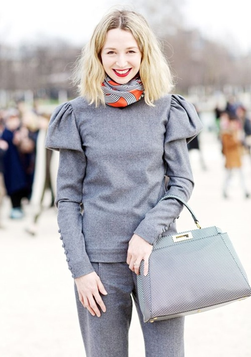 Lạnh rồi mà chưa biết 11 cách thắt khăn này thì đừng nhận sành điệu - 6