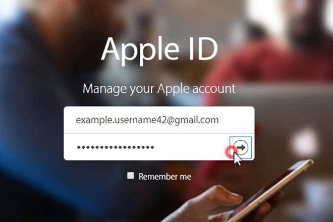 Cách thay đổi địa chỉ email đã khai báo trên Apple ID - 1