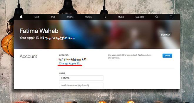 Cách thay đổi địa chỉ email đã khai báo trên Apple ID - 3