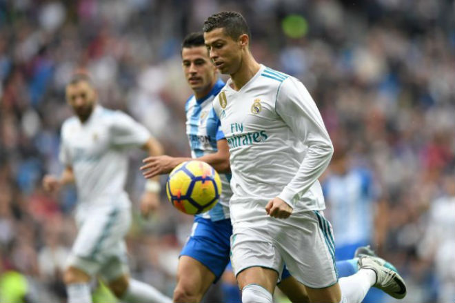 Real Madrid - Malaga: Kịch chiến nghẹt thở, Ronaldo vất vả giải hạn - 1