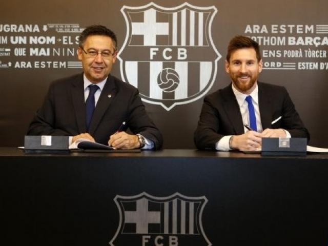 """Barca """"trói"""" Messi 700 triệu euro: Tránh """"vết xe đổ"""" Neymar, Ronaldo ghen tị"""
