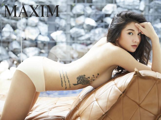 Ảnh con gái quá sexy trên tạp chí đàn ông đình đám ở Thái Lan