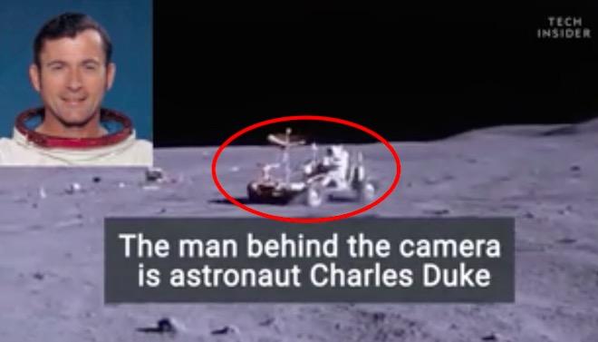 NASA lần đầu công bố video phi hành gia lái xe trên Mặt Trăng - 1