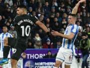 Chi tiết Huddersfield - Man City: Người hùng Sterling (KT)