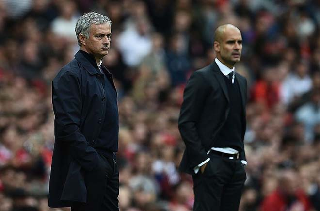 "Derby Manchester: Mourinho & Guardiola ""chơi chiêu"", MU - Man City giấu bài? - 4"