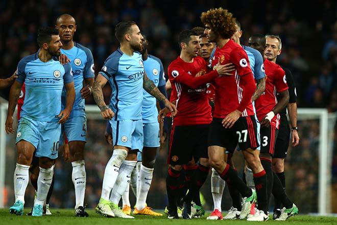 "Derby Manchester: Mourinho & Guardiola ""chơi chiêu"", MU - Man City giấu bài? - 1"