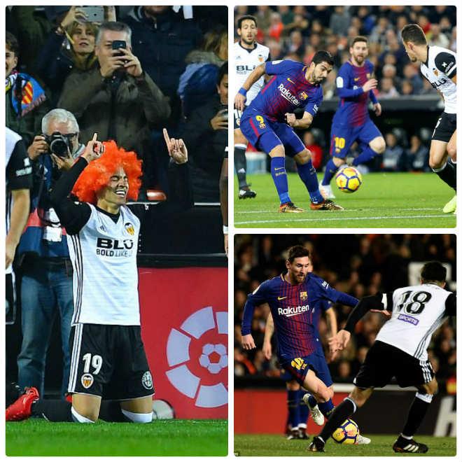 Góc chiến thuật Valencia - Barca: Messi bị cô lập, Suarez vô hại - 1