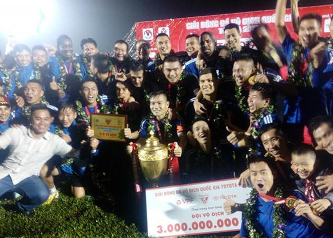Quảng Nam lần đầu vô địch V.League: Bất ngờ hay xứng đáng? - 1