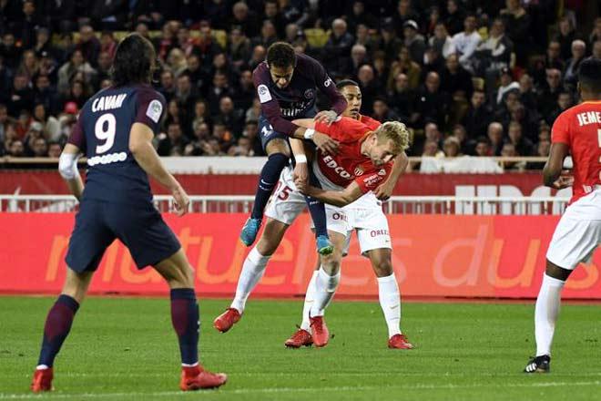 "Monaco - PSG: Cavani - Neymar ""nhảy múa"", uy lực khủng khiếp - 1"