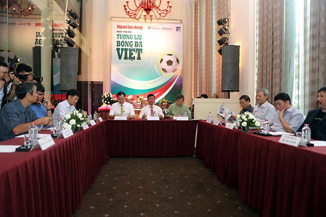"""Hội thảo tương lai bóng đá VN: Nhiều """"bô lão"""" trăn trở, vắng bóng các CLB - 2"""