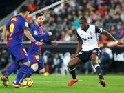 Chi tiết Valencia - Barcelona: Nỗ lực bất thành (KT)