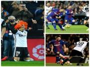 Bóng đá - Góc chiến thuật Valencia - Barca: Messi bị cô lập, Suarez vô hại