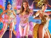 Trang phục dân tộc kiệm vải ở Hoa hậu Hoàn vũ