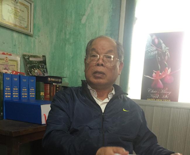 PGS. TS Bùi Hiền: 'Họ chửi tôi điên, nhưng lại học chữ của tôi để chế nhạo tôi rất nhanh' - 1