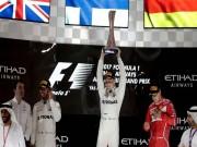 """Đua xe F1, Abu Dhabi GP:  """" Người Phần Lan bay """"  và cú hattrick lịch sử"""