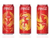 Hợp tác với các họa sĩ trẻ đương đại, Coca-cola tung 3 mẫu bao bì độc đáo chào đón tết 2018