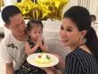 Trang Trần và chồng Việt kiều tổ chức sinh nhật con gái trong ngày đoàn tụ