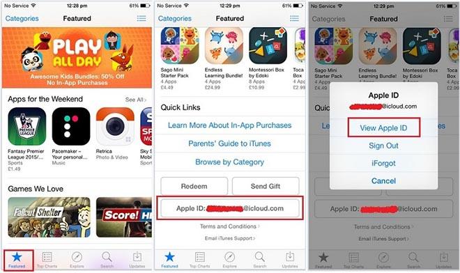 Mẹo hay giúp nhanh chóng thay đổi quốc gia App Store trên iOS - 1