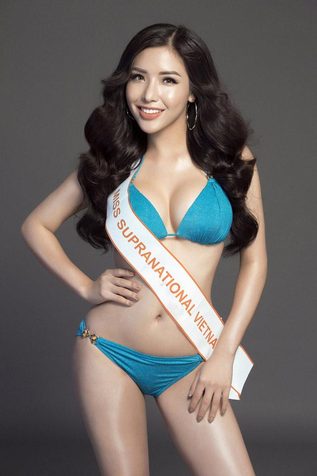 """Á hậu Việt mặc bikini lộ đường cong """"sóng lượn"""" với vòng ba 1 mét - 1"""