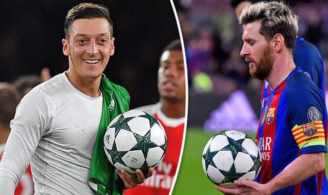 """Barca mua kiến tạo gia Ozil: Messi sẽ """"nhả đạn"""" khủng khiếp? - 2"""