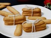 """Cách làm bánh lưỡi mèo giòn rụm, ngọt thơm  """" dễ không tưởng """""""