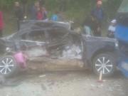 Tin mới vụ 4 người tử vong trong ô tô trên quốc lộ