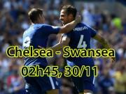 """Chelsea - Swansea City: Nhà vua thăng hoa, chờ nhuộm xanh  """" Thiên nga """""""