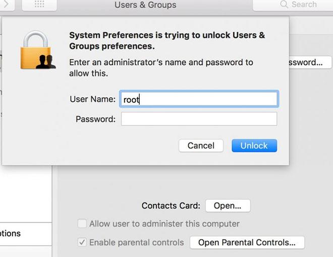 """Lỗ hổng macOS High Sierra khiến người dùng """"ăn ngủ không yên"""" - 2"""
