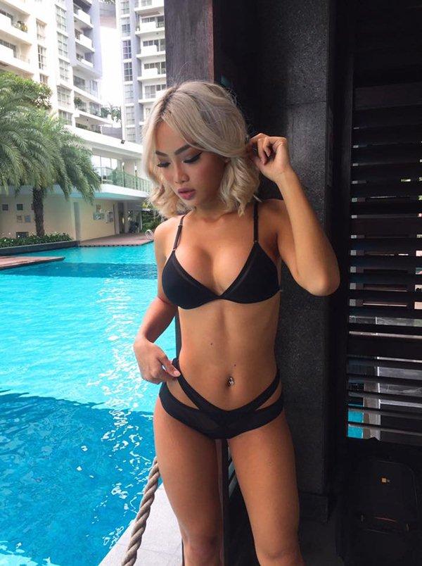 """Nữ DJ Việt """"nghiện"""" quần siêu ngắn, bikini bé xíu vì sở hữu vòng 3 đẹp nhất - 5"""