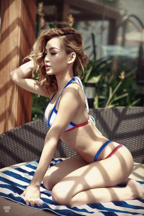 """Nữ DJ Việt """"nghiện"""" quần siêu ngắn, bikini bé xíu vì sở hữu vòng 3 đẹp nhất - 6"""