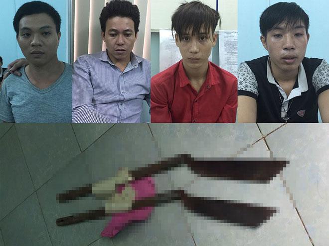 Truy sát ở quán ốc vùng ven, 2 thanh niên bị chém chết - 1
