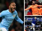 """Vua săn điểm Ngoại hạng: Sterling số 1, Rooney  """" ngon """"  hơn Lukaku"""