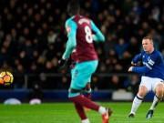 Rooney hattrick thần sầu: David Moyes  cạn lời , Everton mơ hồi sinh