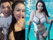 Vợ tương lai Khắc Việt mặc bikini bốc lửa