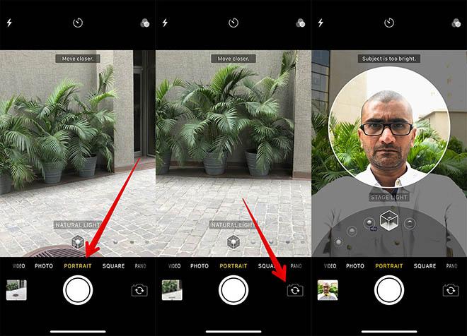 Cách chụp ảnh selfie đẹp nhất với chế độ Portrait trên iPhone X - 1