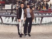 Con trai ruột Hoài Linh khoe ảnh du lịch cùng cha
