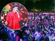 Nhiều fan ngất xỉu trong đêm nhạc của Noo Phước Thịnh