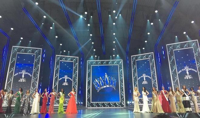 Á hậu Việt có vòng ba 1 mét lọt top 25 Hoa hậu Siêu quốc gia - 2