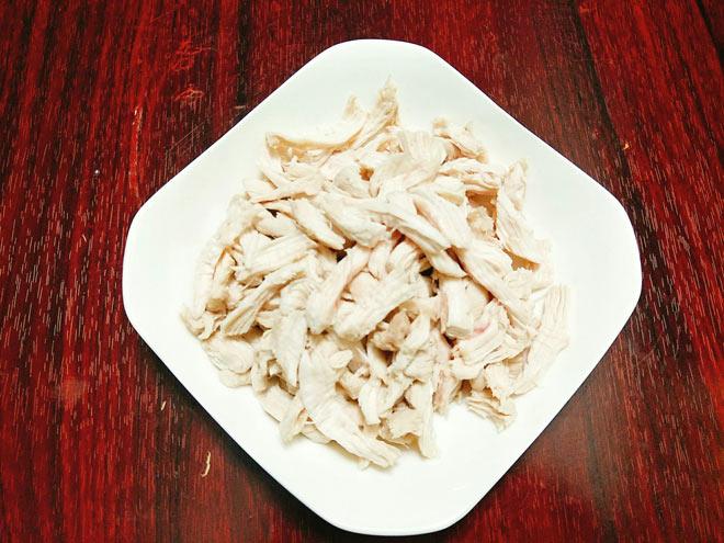 """Cách làm ruốc thịt gà để dành ăn xôi, """"cứu đói"""" những ngày bận rộn - 6"""