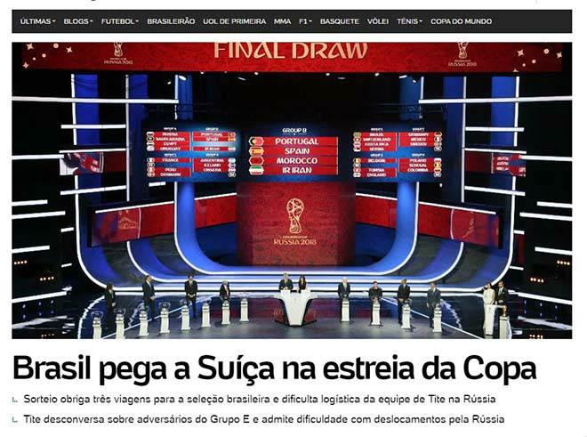 Bốc thăm World Cup: Báo Tây Ban Nha sợ Ronaldo, truyền thông Anh ngại Brazil - 8