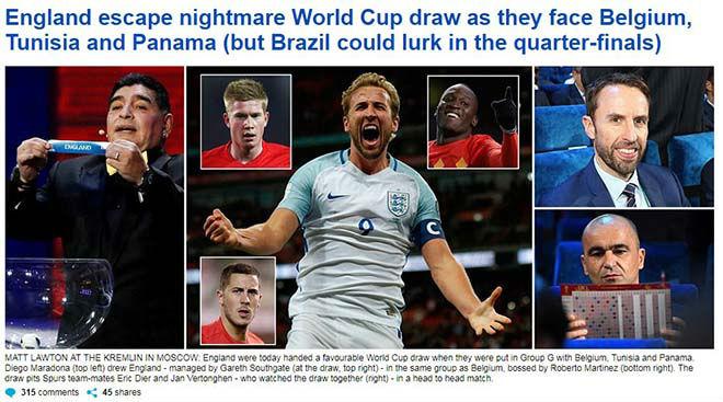 Bốc thăm World Cup: Báo Tây Ban Nha sợ Ronaldo, truyền thông Anh ngại Brazil - 3