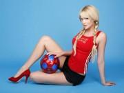 Mỹ nhân Đại sứ World Cup: Cựu hoa hậu Nga gây sốt với thân hình nóng bỏng