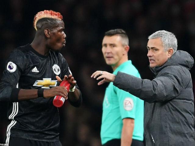 Tiết lộ sốc: Pogba ăn thẻ đỏ, lỡ đại chiến Man City vì giận Mourinho