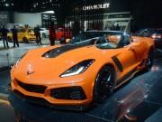 Siêu xe Chevrolet Corvette ZR1 mui trần giá từ 2,8 tỷ đồng