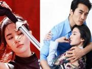 """Đóng  """" Hoa Mộc Lan """" , Lưu Diệc Phi lộ bằng chứng đã chia tay Song Seung Heon"""