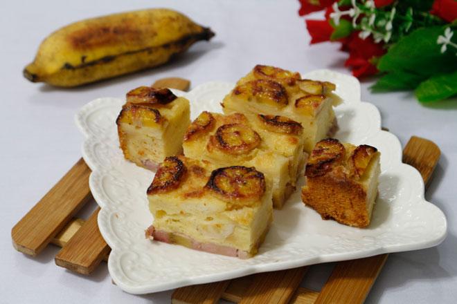 Bánh chuối nướng, món ăn vặt gây thương nhớ những ngày đông - 1