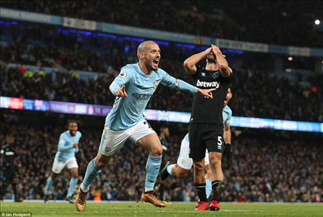 """Man City chạm siêu kỷ lục, """"hăm dọa"""" MU trước derby Manchester - 1"""