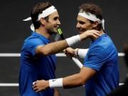 """Tennis 24/7:  Đá cặp  ăn ý, Federer và Nadal dễ nhận  """" Oscar thể thao """""""