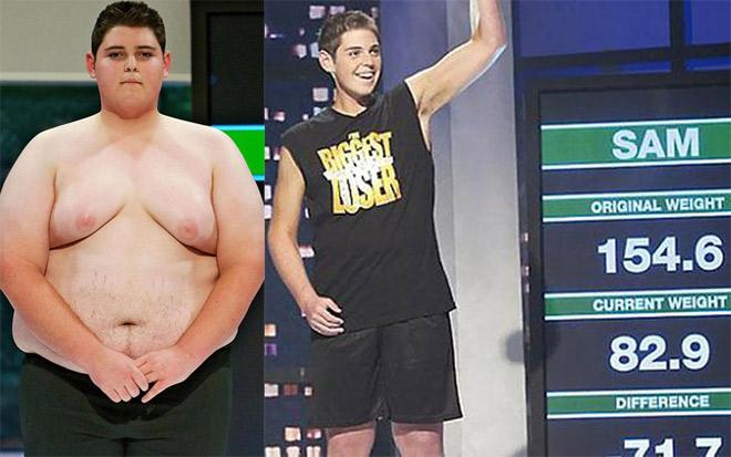 """Bái phục: Gã béo 154 kg """"lột xác"""" thành nam thần """"6 múi"""" tuyệt đẹp - 1"""